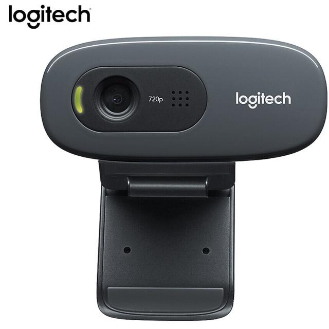 Ban đầu Logitech C270 HD Vỹ Tặng 720 P Webcam Tích Hợp Micphone USB2.0 Mini Camera dành cho MÁY TÍNH Laptop