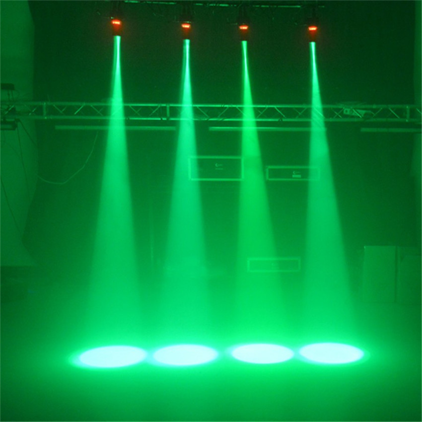 Thrisdar 5W Mini LED лъч Pinspot Light Mirror Balls DJ Disco Effect Етапна лампа DJ KTV Bar Party Show Stage Light