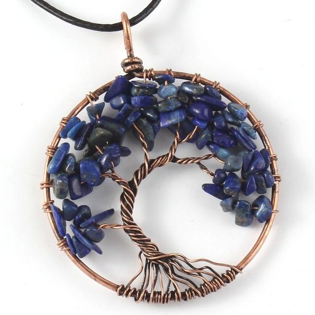 100 Unique 1 Pcs Trendy Copper Plated Wire Wrapped Lapis Lazuli ...