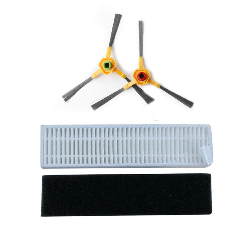 Best Filter Sponge Side Brushes For Ecovacs Deebot Slim 2 Vacuum Parts Accessories