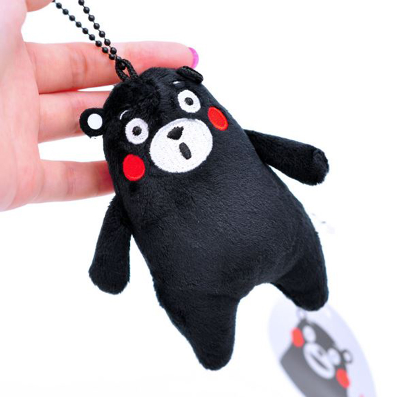 1Pcs Cute Kumamoto Bear Plush Small Pendant Doll Kumamoto Mascot KUMAMON Black Bear Plush Toy Boutique Ornaments1Pcs Cute Kumamoto Bear Plush Small Pendant Doll Kumamoto Mascot KUMAMON Black Bear Plush Toy Boutique Ornaments