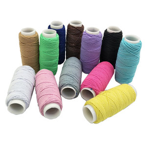 Sewing Line Rope 30m Long/ 1 Roll Colorful Elastic Bands Elastic string wrinkled for dress sewing DIY Accessories AA8514
