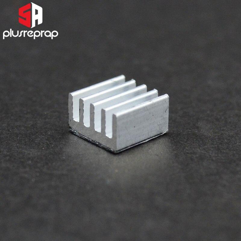 6PCS A4988 Heatsink Aluminum Heat Sink Stepper Driver For 3D Printer Parts