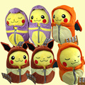 Sleeping Bag Pikachu Animal Dolls, 25 CM Cute Pokemon Plush Toys,Children Pocket Plush Toys Send Kids As Gift With Free Shipping