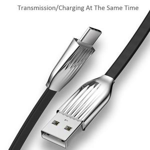 Image 3 - 2.4A/120cm Type C Data Cable USB Luminous Fast Charging Cable Applicable To All Type c Interface Devices Flexible And Durable