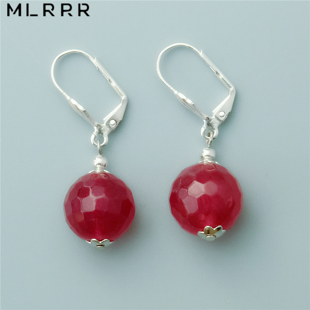 MMC Silver Pendants Gemstone 0.95ct Red Garnet Necklaces for Womens