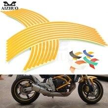 Motorcycle Accessories Wheel Sticker for yamaha suzuki ducat