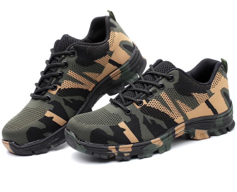 Sécurité Et Embout Camouflage En Militaire Femelle Chaussures Travail De Green Armée Blue C299 Air crevaison Femmes Anti Acier camouflage Xgravity Plein Bottes OpqwA