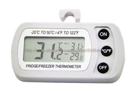 Waterproof Digital Electronic Freezer Refrigerator Thermometer High And Low Temperature Display Thermometer Free Shipping