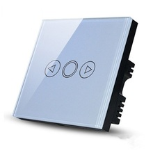 High quality led touch dimmer switch 20-300W Crystal panel wall controller for dimmable light