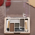 Eye Shadow Makeup 5 Colors Earth Color Eyeshadow Palette Shimmer Smokey Nude Set