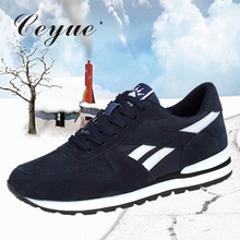 Ceyue мужские кроссовки из натуральной кожи, кроссовки для ношения на улице, обувь суперзвезды, спортивная обувь, chaussures de course