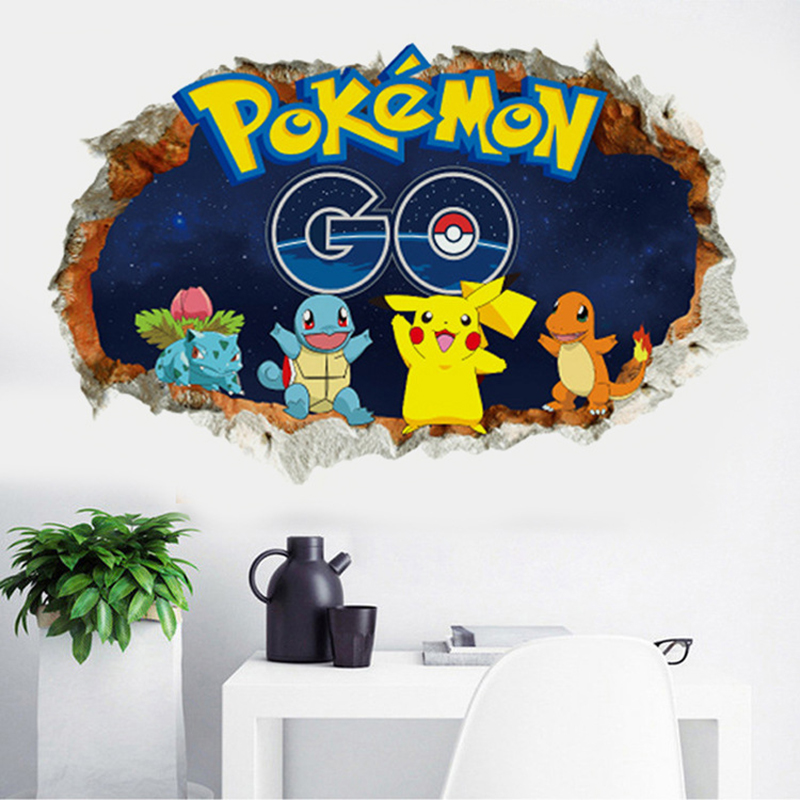 online buy wholesale wall sticker pokemon from china wall sticker pokemon wholesalers. Black Bedroom Furniture Sets. Home Design Ideas