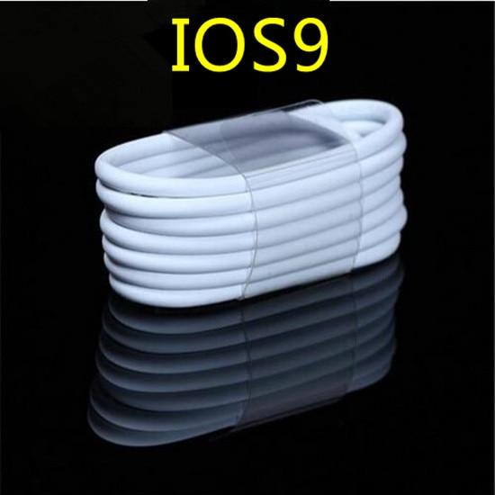 bilder für 5000 stücke Gute qualität 1 mt 3FT 8pin Daten-synchronisierungs-adapter Ladegerät usb-kabel zubehörpakete für iPhone 7 6 6 s 6 plus 5 5 s 5c ios10
