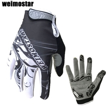 Weimostar Cycling Gloves Shockproof Gel padded Bike Glove Men Bicycle Full Finger Gloves Women MTB Racing Gloves  Brand White