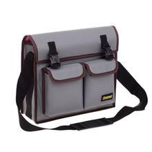 Wielofunkcyjna torba na jedno ramię sprzęt elektryk Toolkit torba na narzędzia wodoodporna, odporna na zużycie torba na pasek materiałowy Oxford