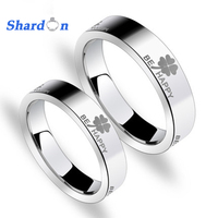 SHARDON Tungsten Ring For Lover Wedding Band Engagement Couples Promise Rings Sets US Size From 5