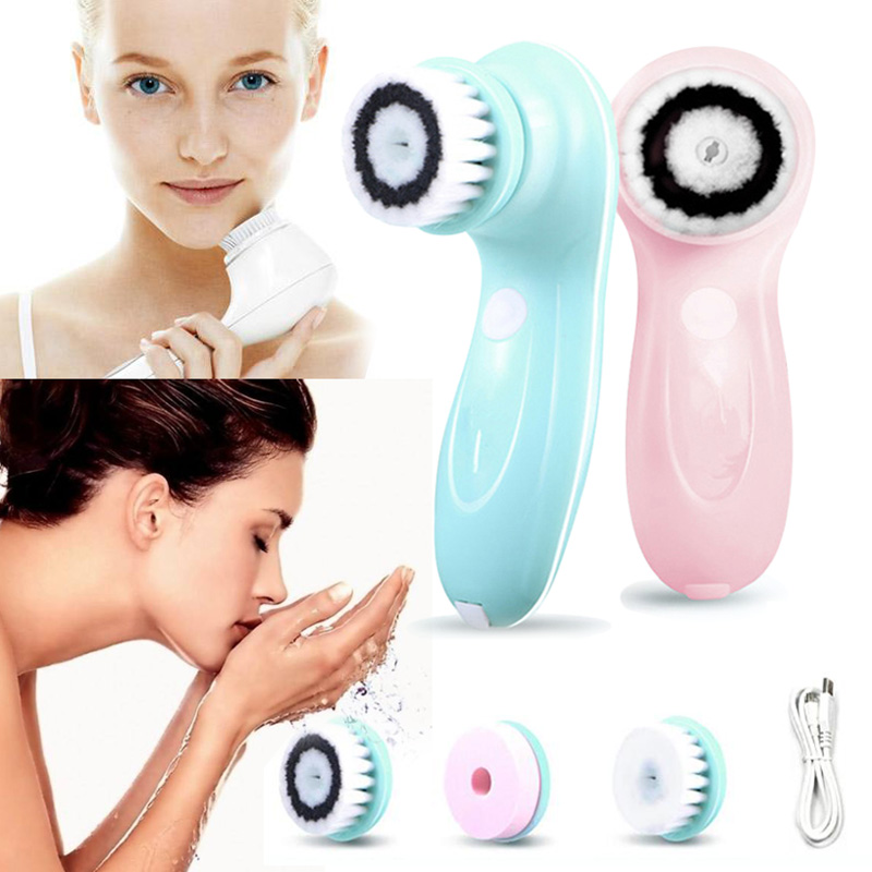 Cleaning Face Cleaner Vibrate Waterproof Blackhead Removal Facial Brush Soft Massager Skin Care Wash Machine Makeup Remover induction cleasing face cleaner vibrate waterproof blackhead removal facial brush soft cleaners massager skin care wash machine