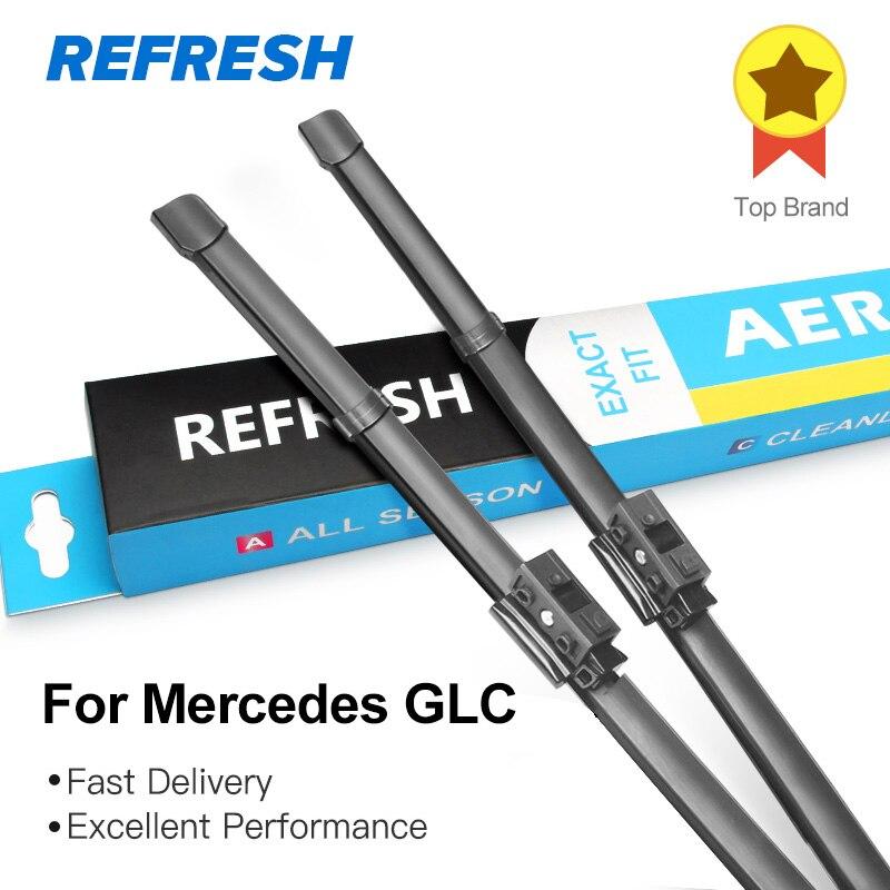 ATUALIZAR Wiper Blades para Mercedes Benz Classe GLC X253 C253 24