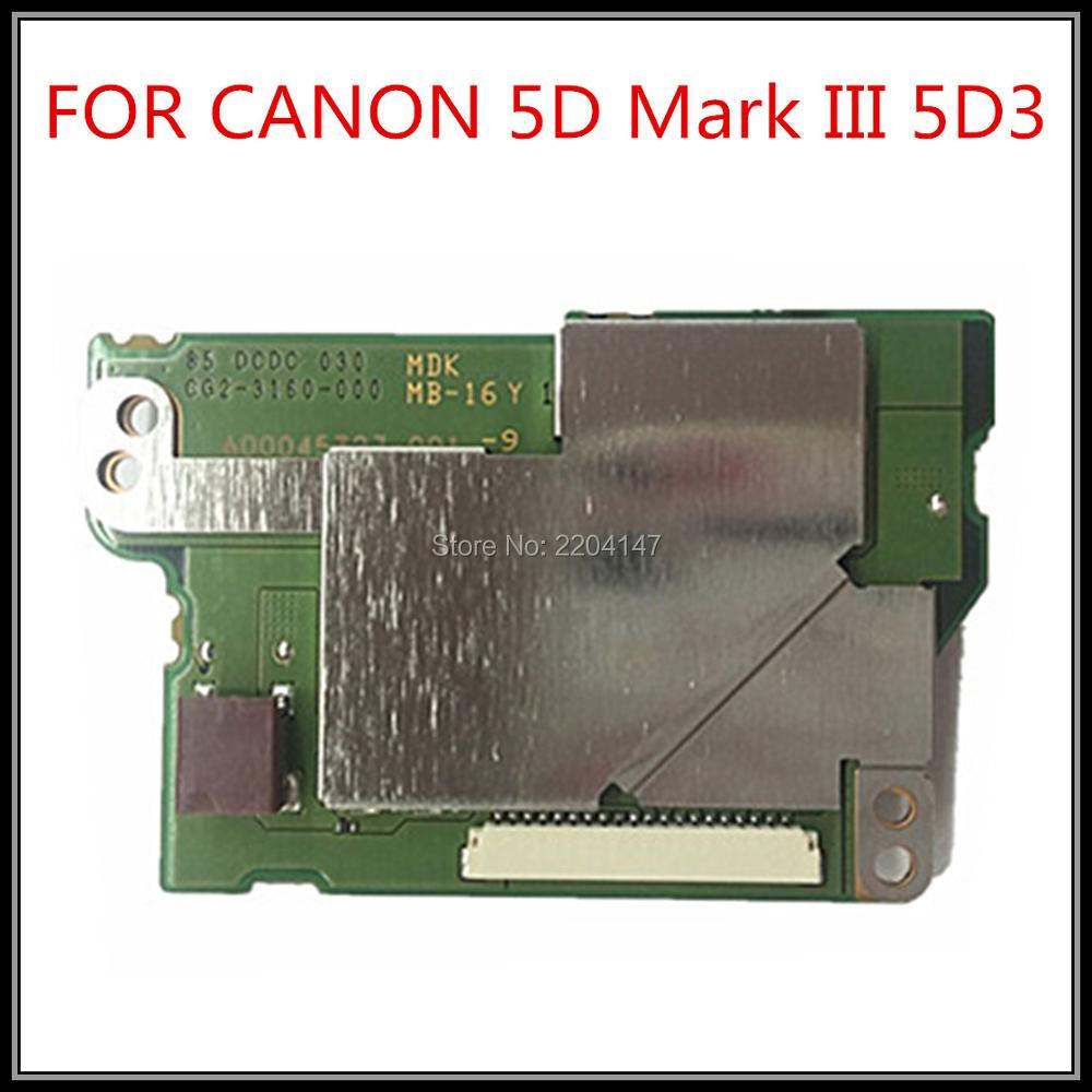 100% Original NEW for canon eos 5D MARK III 5D MARK3 5DIII 5D3 DC/DC power board new original 5d iii lcd top cover head flash cover for canon 5diii top 5d mark iii open unit 5d3 cg2 3197 020 digital camera