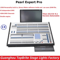 1 Unit Pearl Expert Pro Avolites Stage Lighting Controller Titan 9 1 10 0 System Titan