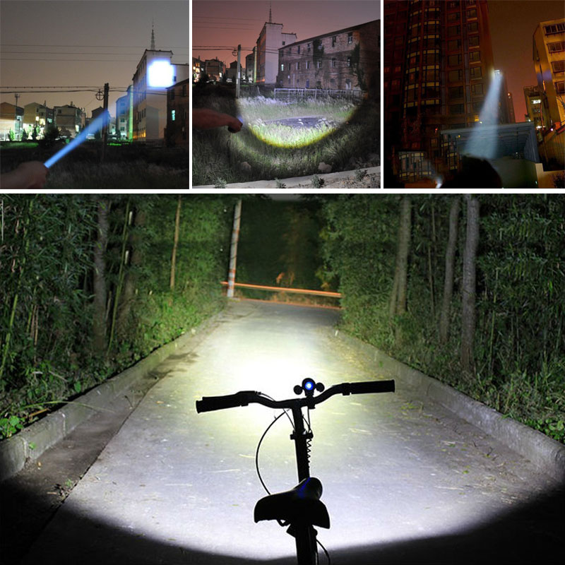 New Bicycle Light 7 Watt 2000 Lumens 3 Mode Cree Q5 Led Bike Light