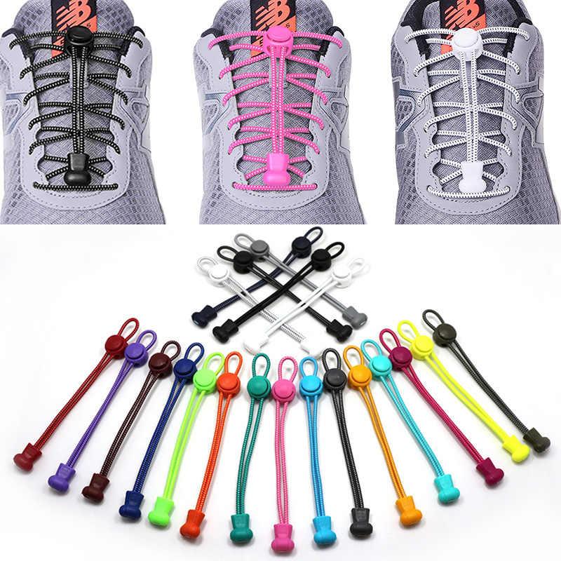 XLiKaKa ไม่มี Tie Shoelaces Laces Shoestrings ยืดหยุ่นสำหรับผู้ใหญ่เด็กยืดรองเท้า laces สำหรับรองเท้าผ้าใบ
