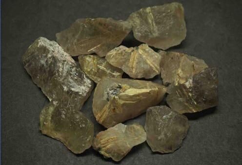 1000g pierre brute naturelle Huang Fajin