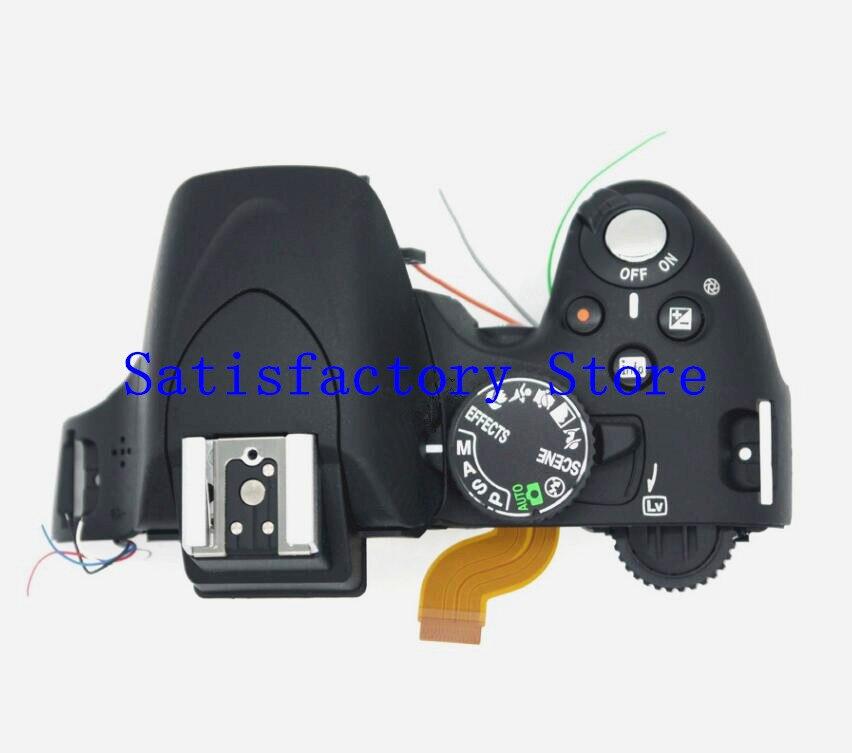Capa para Nikon Novo Capa Superior Cabeça Flash D5100 Câmera Digital Reparação Parte Lcd –