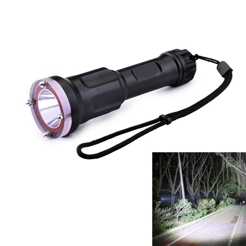 Ultrafire Dive Light Flashlight XM-LT6 3800LM 1-Mode LED Torch Lantern Hunting LED Cavity Tactical Switch 18650 Flashlight luz ultrafire c6 t60 5 mode 910 lumen white led flashlight with strap black 1 x 18650