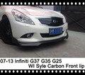 Infiniti G37 Front lip G35 Sedan Front lip Spoiler G25 Front Bumper lip Carbon Fiber Tuning Parts