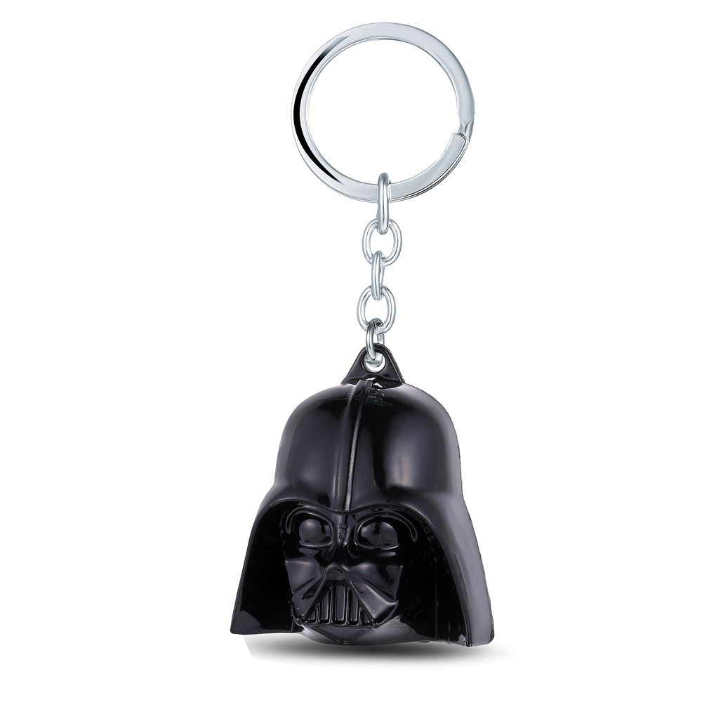 MS JEWELS Movie Jewelry Star Wars 3D Darth Vader Anakin Skywalker Keychain Metal Key Rings Key Chain Fans Present Drop Ship