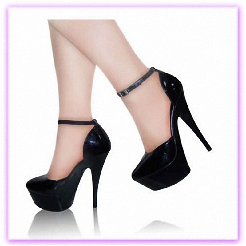 8909137a3 الأزياء مزاجه من فائقة مع رئيس الأسماك جميلة أحذية نسائية 15 cm عالية الكعب  يظهر جديد أحذية