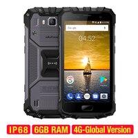 Ulefone Броня 2 смартфон Android 7,0 Восьмиядерный 64-бит 2,6 GHz 6 GB + 64 GB 16.0MP + 13.0MP IP68 Водонепроницаемый 5,0 дюймов 4G мобильный телефон