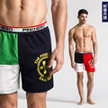 6pcs/lot European and American fashion men's underwear comfortable cotton color home arrow pants 1245 free shiping