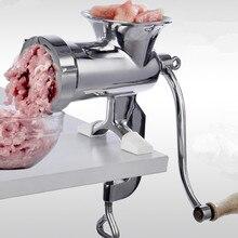 цена 304 Stainless Steel Manual Meat Grinder 10# Size Vegetable Nuts Grinding Machine в интернет-магазинах