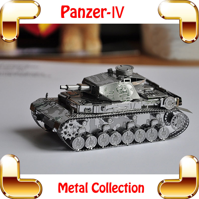 Cool MEN Gift Panzer IV 3D Model World War 2 German Tank
