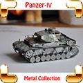 Cool MEN Gift Panzer IV 3D Model World War 2 German Tank Metal Model Weapon Car Game Puzzle DIY Home Office Decoration Toy