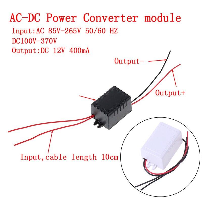 AC-DC 110 В 220 в 230 В до 12 в ма конвертер Блок питания адаптер