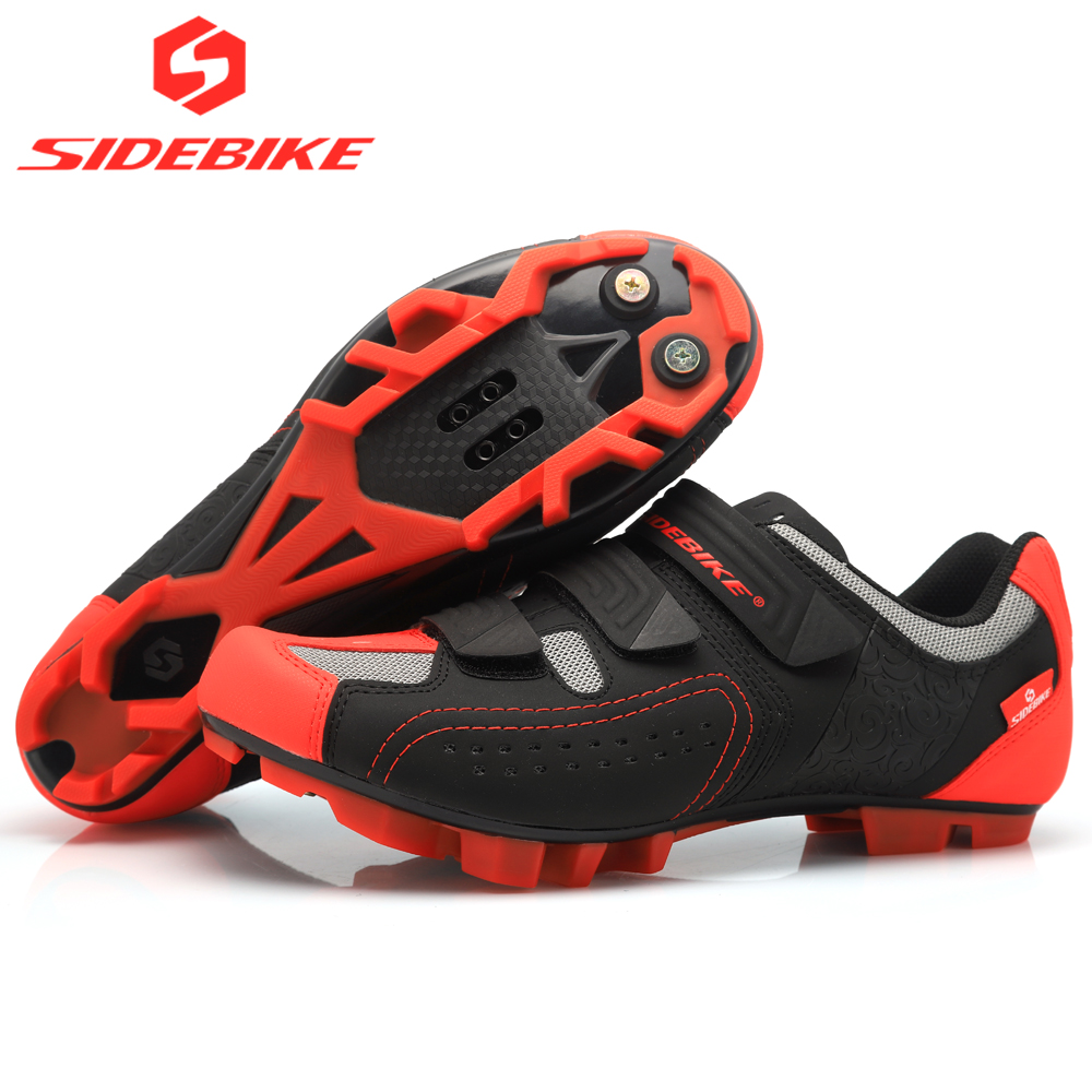 2018 sidebike cycling shoes mtb man women racing bicycle MTB shoes mountain bike sneakers professional self-locking breathable цена