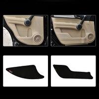 עבור הונדה crv crv 4pcs בד דלת להגנת שטיחוני נוגדי בעיטה דקורטיביים רפידות עבור הונדה CRV 2007-2010 (1)