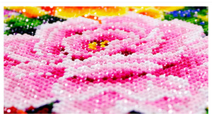Image 5 - QIANZEHUI, Tự Làm 5D Hoan Nghênh Thông Chảy Tiền Thêu, Hình Tròn Full Con Công Tranh Gắn Đá Chữ Thập, Bộ Kim Chỉ