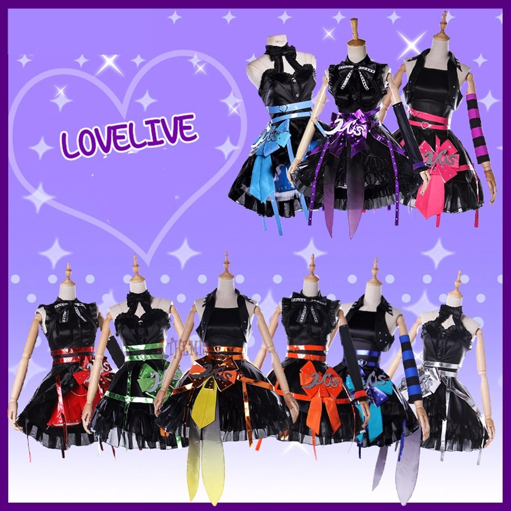 MMGG Anime Girls LoveLive Cosplay Costume Lovely Women Dress Outfit Custom Made