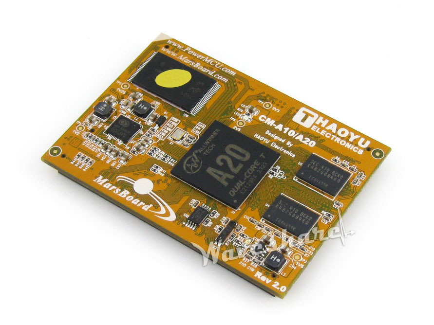 CM-A20 Mars Mars Board Core Board for MarsBoard A20 CPU Module Kit, Dual Core ARM Cortex A7 CPU and Dual Core Mali-400 GPU c200h cpu03 cpu unit cpu module
