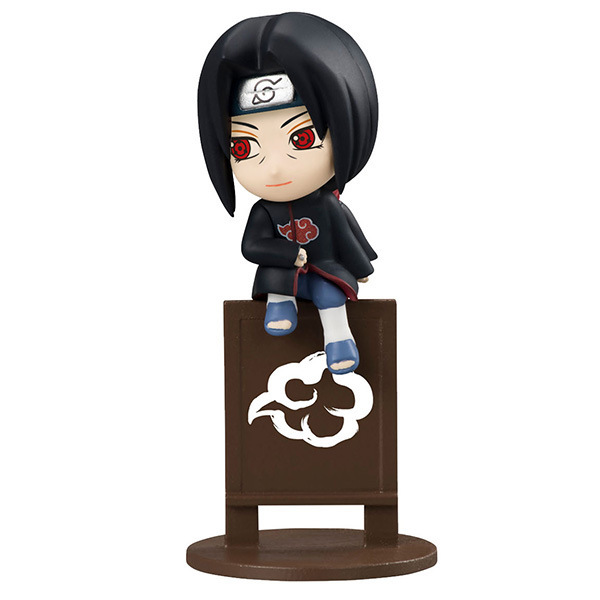 8pcs/set Naruto Jiraiya Kakashi  Gaara Itachi Doll PVC Action Figure Collectible Model Toy 4cm KT3818 1