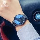 Bestdon Mechanical Watch Men Fashion Automatic Clock Man Luminous Daydate Moonphase Top Switzerland Brand Wristwatch Transparent