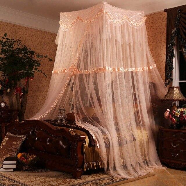 Amazing Sommer Prinzessin Bett Zelt Elegante Spitze Baldachin Bett Vorhänge Dossel  Netting Einzelne Tür Faltbaren Moskitonetz Idea
