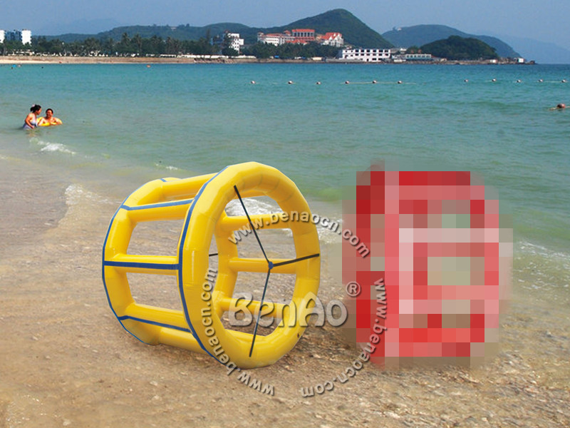 WB029  inflatable zorb ball/inflatable water roller ball/inflatable water wheel for kids and adult,Inflatable Water Park free shipping inflatable water walking ball water rolling ball water balloon zorb ball inflatable human hamster plastic ball