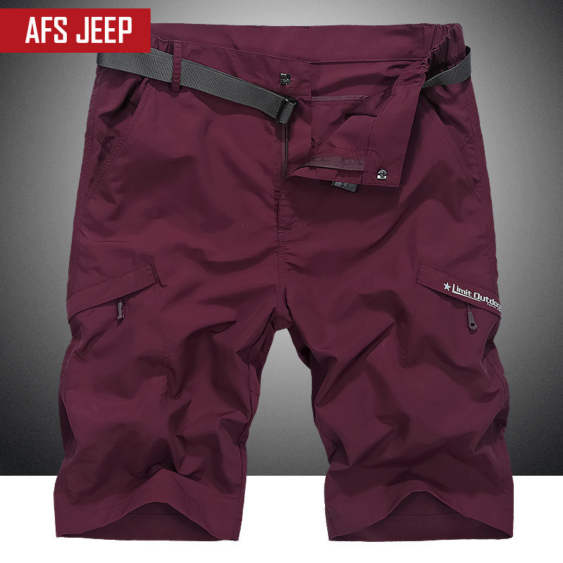 NEW JEEP Obese Big Size M-5XL Mens Cargo Shorts Casual Multi Pocket Summer Man Short Pants Military Brand Shorts Men Wicking
