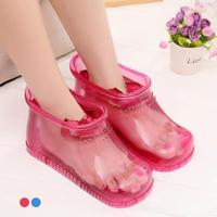 1 Pair Foot Bath Massage Shoes Feet Slipper Bath Massager Household Relaxation Soak Acupoint Health Care Tool Z3